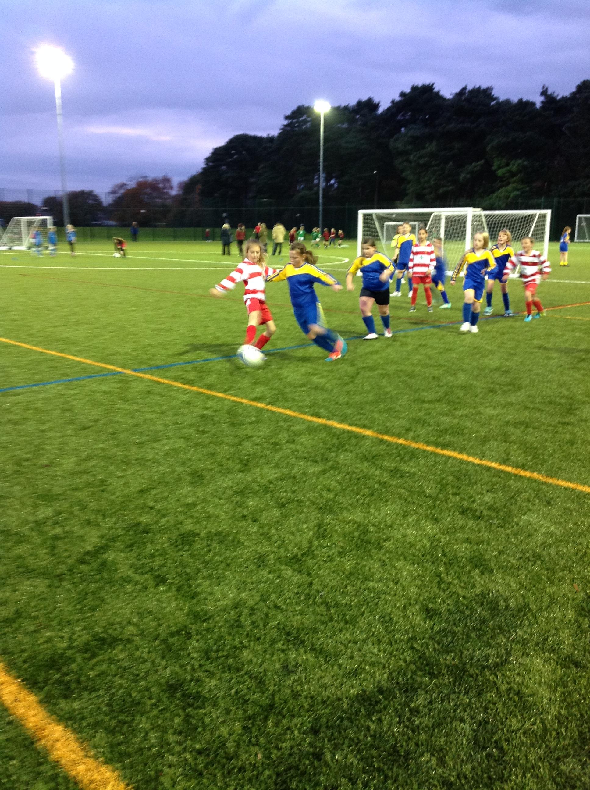 Girl's football 1