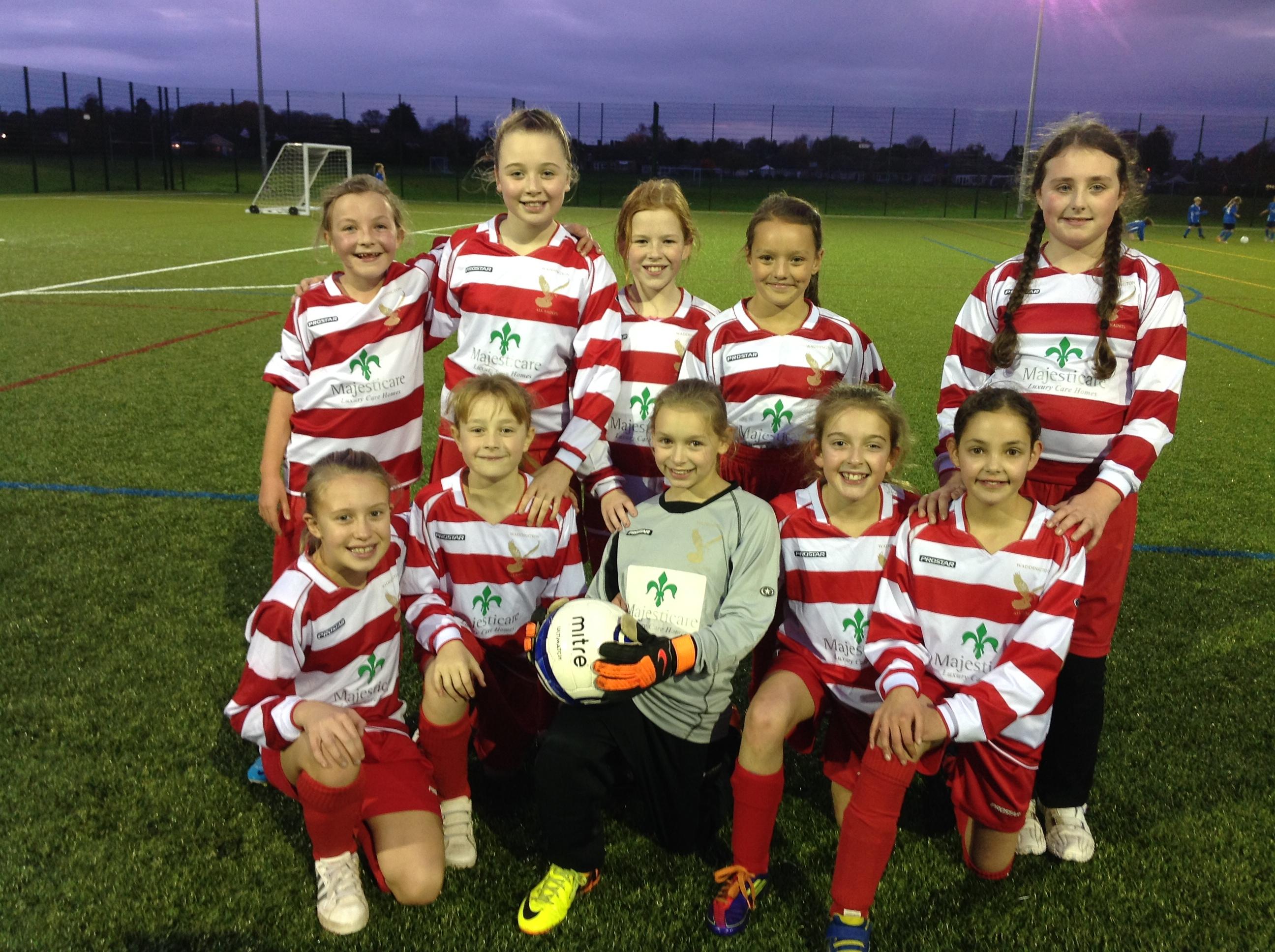 Girl's football 2