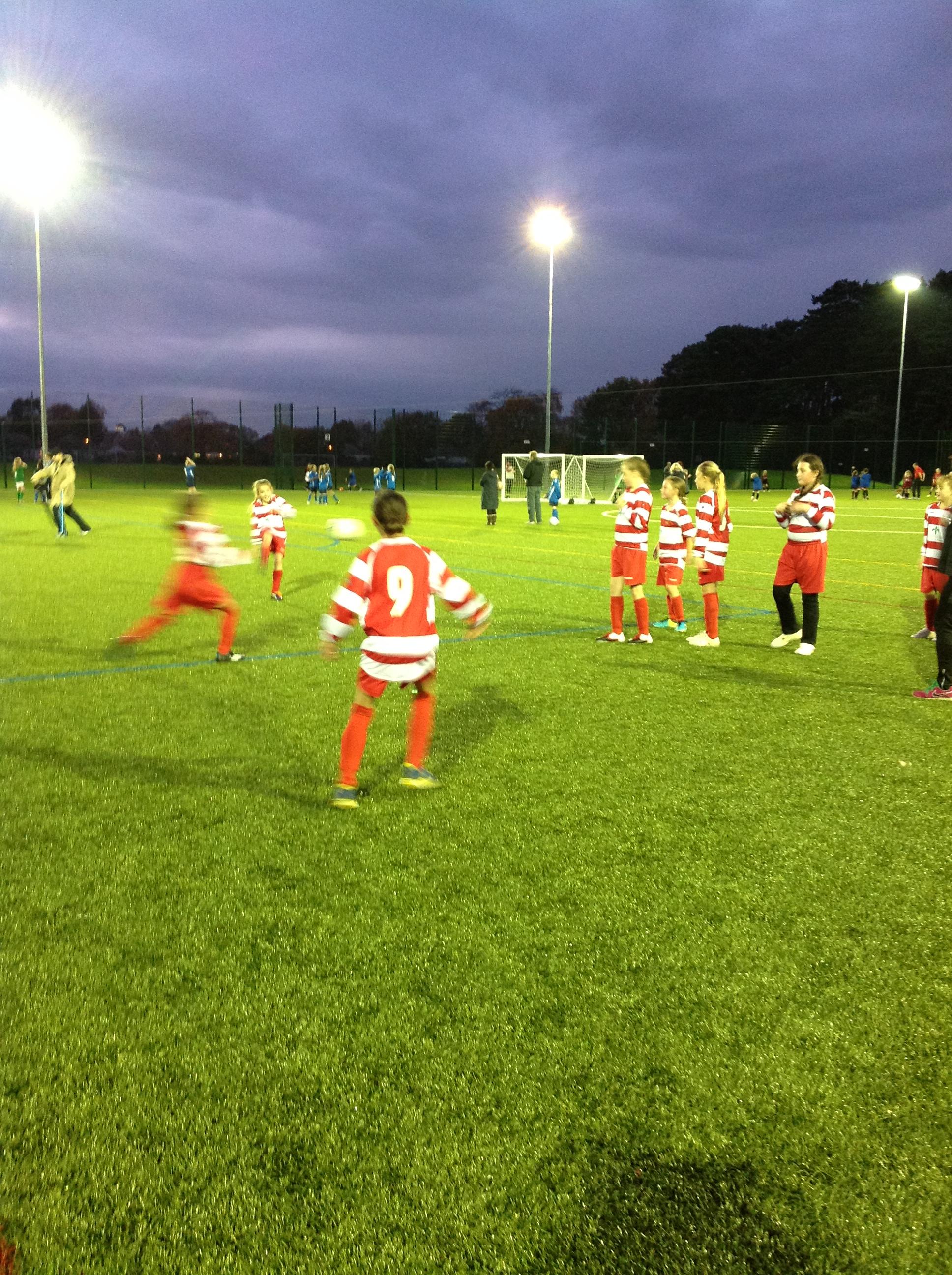 Girl's football 3